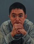 "Lesley's Son,                  oil/canvas, 16""x20"""